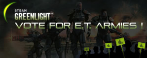 E.T. Armies on GreenLight
